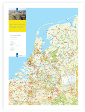 Construction map the Netherlands