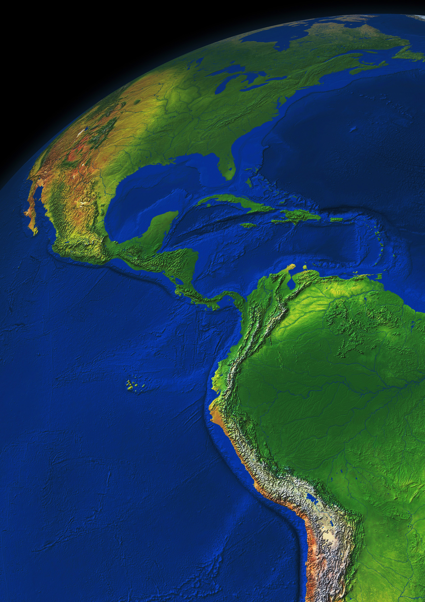 Digital image globe south america 549 the world of maps download sample gumiabroncs Gallery