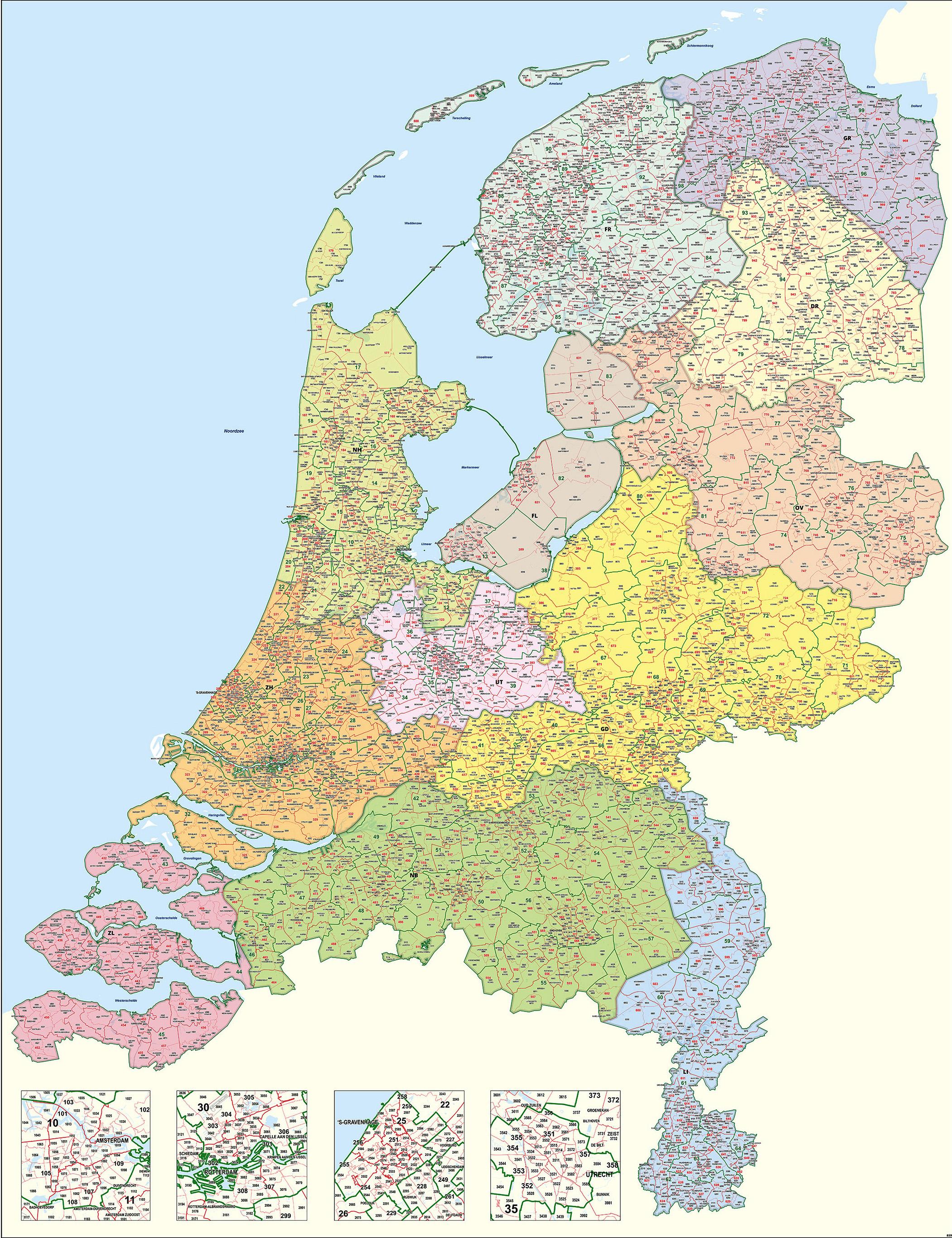 Rotterdam Netherlands Zip Code