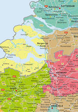 Benelux map sample