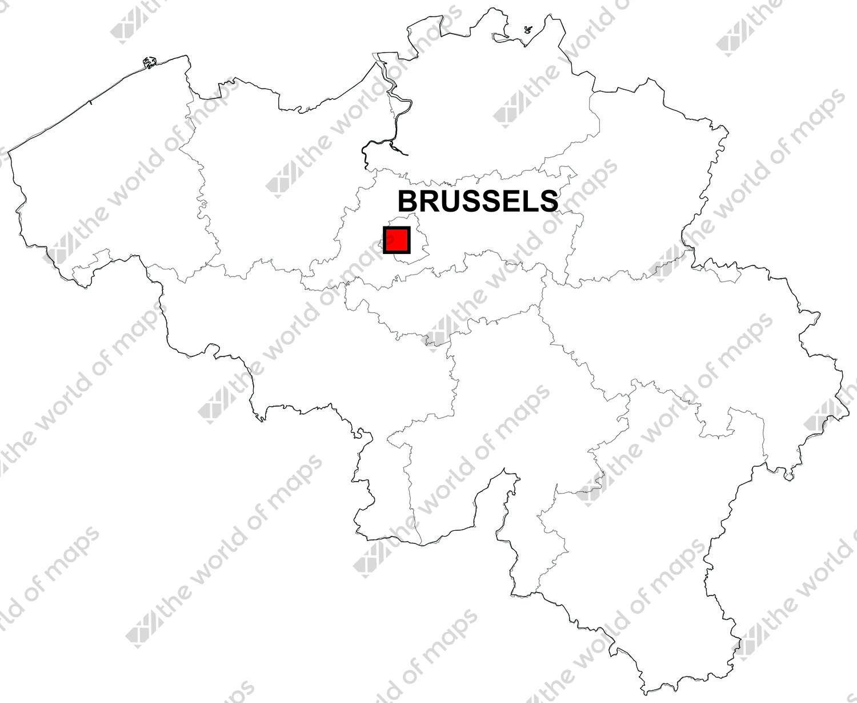 digital map of belgium free