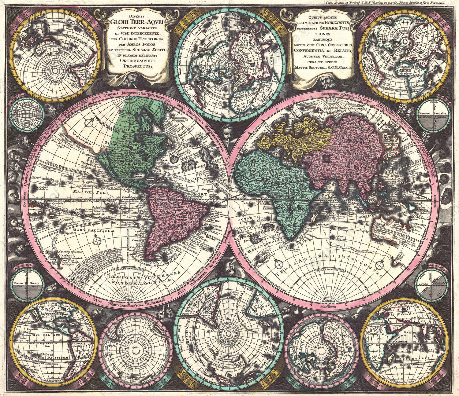 Digital world map year 1725 matthaeus seutter the world of maps digital world map year 1725 matthaeus seutter gumiabroncs Image collections