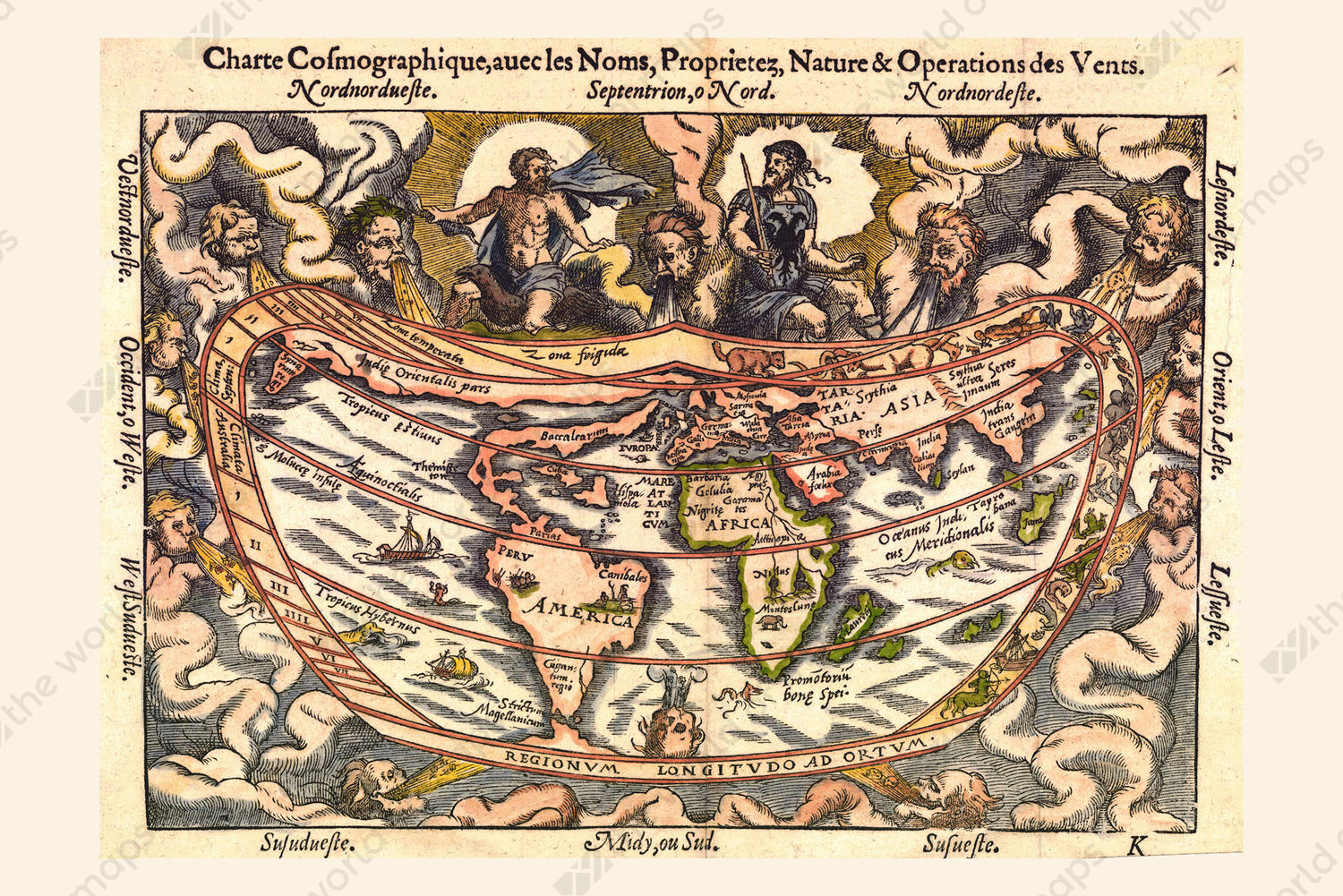 Digital world map year 1544 apianos the world of maps digital world map year 1544 apianos gumiabroncs Image collections