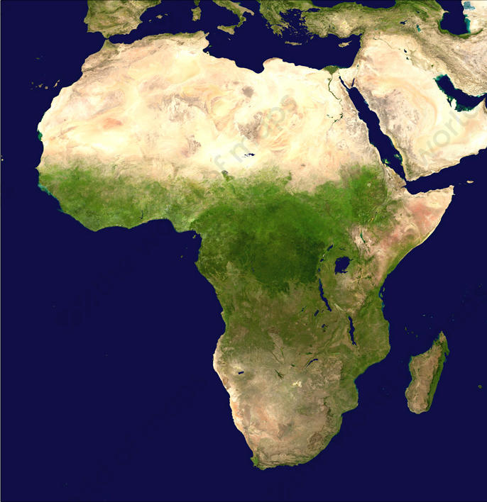 Digital Satellite Image Africa 1330 | The World of Maps.com on map of sn, map of ke, map of ic, map of sz, map of asia, map of ta, map of mh, map of gh, map of spangdahlem air force base, map of sh, map of ci, map of cl, map of ei, map of africa, map of air force bases overseas, map of afr, map of gl, map of ggc, map of re, map of afganis,