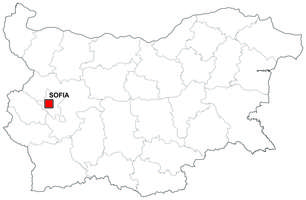 Digital map of Bulgaria (free)