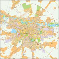 Digital City Map Bucharest 473