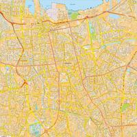 Digitale kaart Jakarta 770