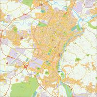 Digitale kaart Turijn / Turin 496
