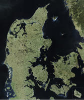 Digital Satellite Map Danmark