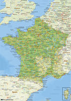 France  The World of Mapscom