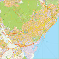 Digitale stadsplattegrond Barcelona 467