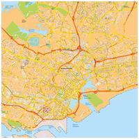 Digitale kaart Singapore 772