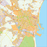 Digitale stadsplattegrond Valencia 497