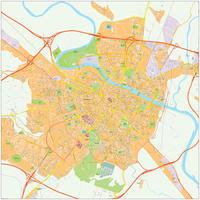 Digitale kaart Saragossa / Zaragoza 502