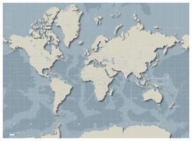 Digital World Map Floatr