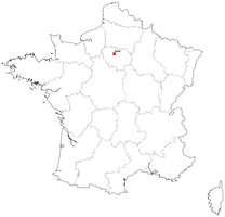 Digital map of France (free)