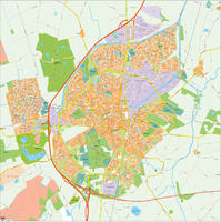 Digital map Assen