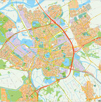 Digital map Den Bosch