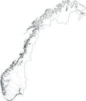 Digital map Norway (free)