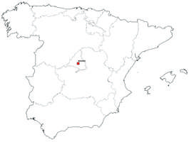 Digital map of Spain (free)