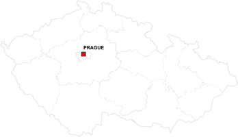 Digital map of Czech Republic (free)