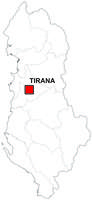 Digital map of Albania (free)