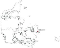 Digital map of Denmark (free)