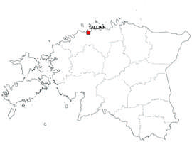 Digital map of Estonia (free)