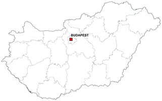 Digital map of Hungary (free)