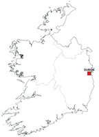 Digital map of Ireland (free)