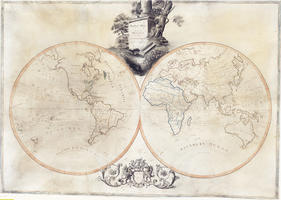 Digital World Map Year 1799 Arnold 1337