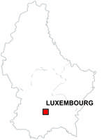 Digital map of Luxembourg (free)