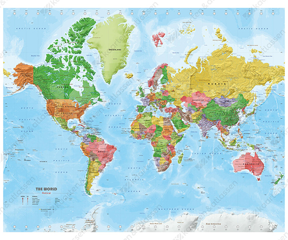 Political worldmap
